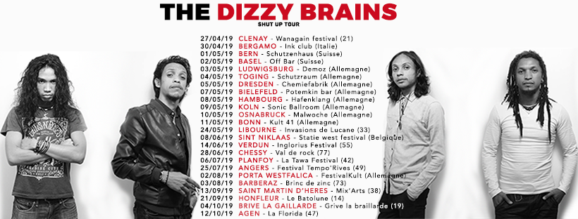 The Dizzy Brains Tour 2019