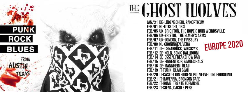 ghost wolves tour 2020