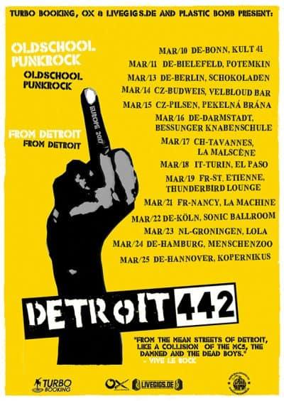 Detroit 442 - Europe Tour 2017