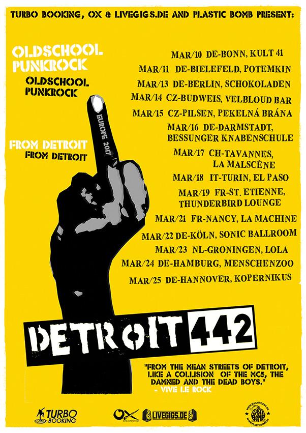 Detroit 442 Tour 2017