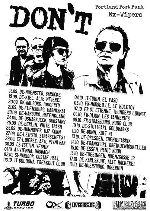 Don't Tour 2014