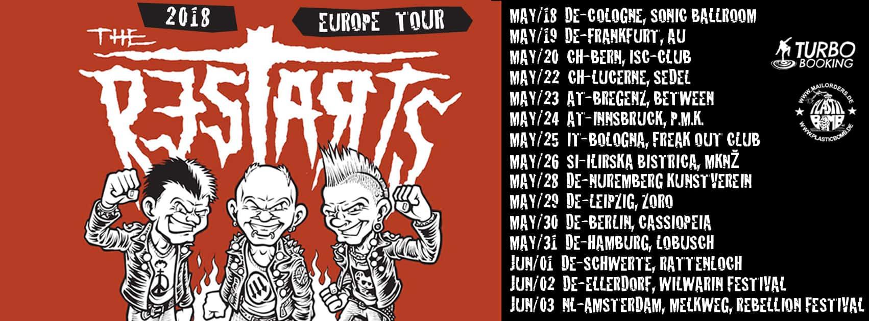 Restarts Tour 2018