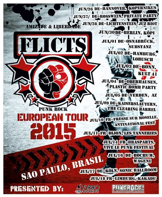 Flicts Europe Tour 2015
