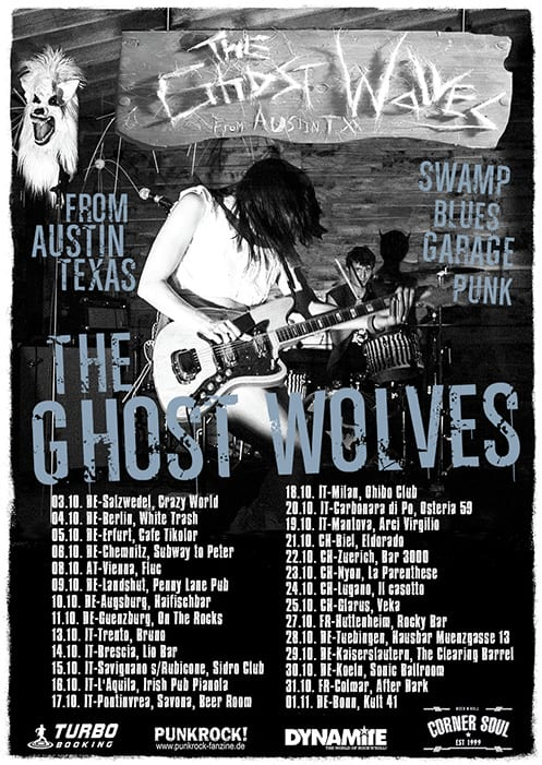 The Ghost Wolves Tour 2014