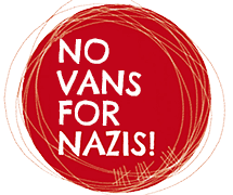 No vans for Nazis