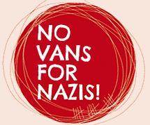 No vans for Nazis