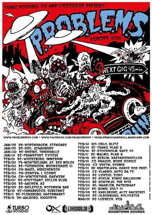 Problems Tour 2016