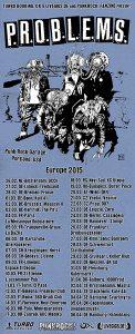 Problems Europe Tour 2015